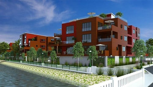 The River Gate South project is one of the recipients. (rendering courtesy In-Situ)
