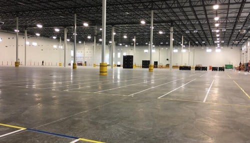 The company opened its current Jeffersonville location last summer.