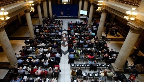 The recipients were honored Friday at the Statehouse. (photo courtesy Indiana State Department of Agriculture)