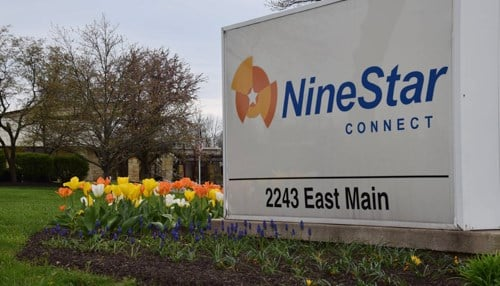 NineStar Connect is headquartered in Greenfield.