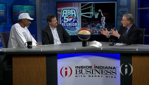 From left-to-right: Darnell Hillman, Scott Tarter, Inside INdiana Sports Contributor Bill Benner.