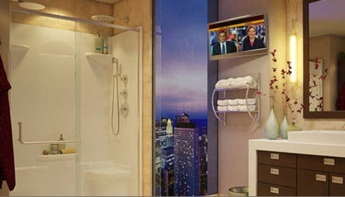 Oasis Lifestyle manufactures commercial bathroom products.