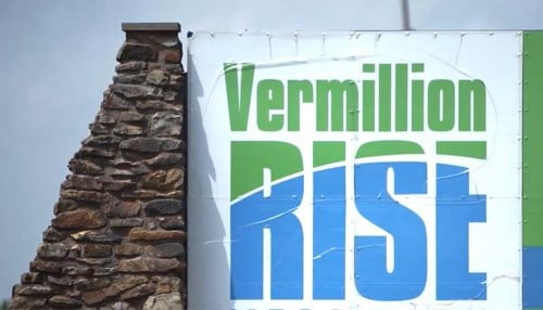 The company has built a facility in the Vermillion Rise Mega Park.