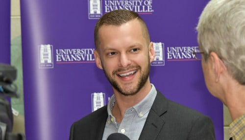 William McConnell will serve as director of the Institute for Public Health. (photo courtesy University of Evansville)
