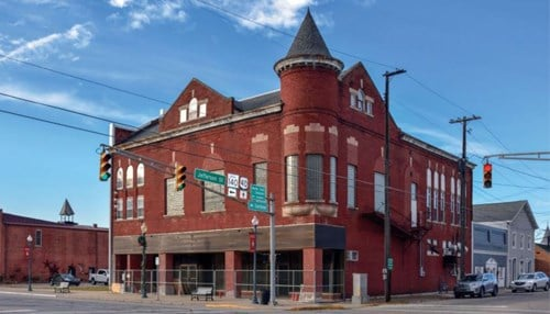 The Old Masonic Hall in Knightstown made the 2018 list. (photo courtesy Indiana Landmarks)
