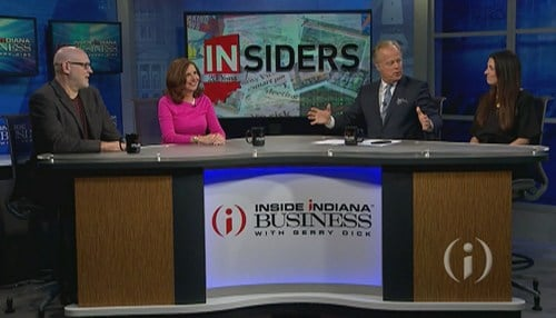 The panel discussed the evolution of Indiana business over the last 20 years.