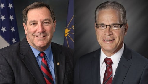 Senator Joe Donnelly (D-Ind.) will face Republican Mike Braun in November.