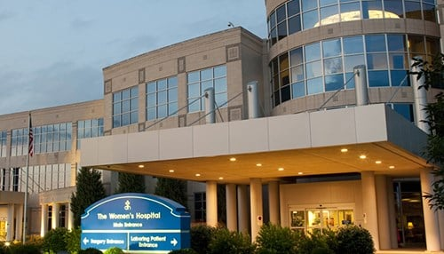 The Women's Hospital in Newburgh (photo courtesy Deaconess Health)