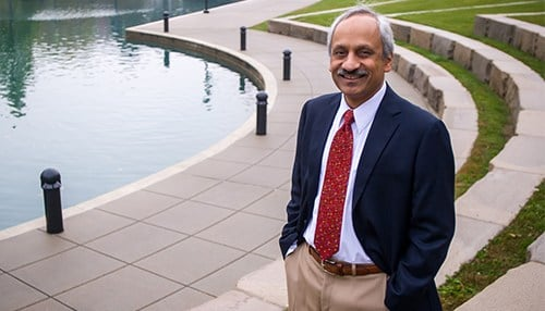 IU Associate Vice President Anantha Shekhar founded the institute in 2008. (photo courtesy IU School of Medicine)