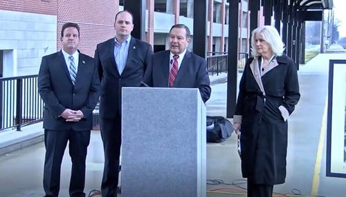 Officials from Fishers and Noblesville announced plans for the trail last year.