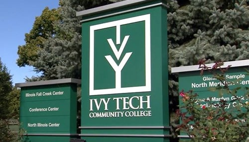 Ivy Tech Community College recieved funding for its IT programming.