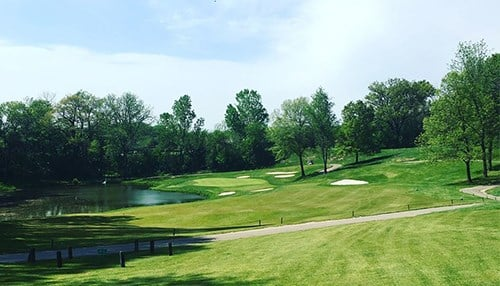 The tournament is being held at Blackthorn Golf Club.