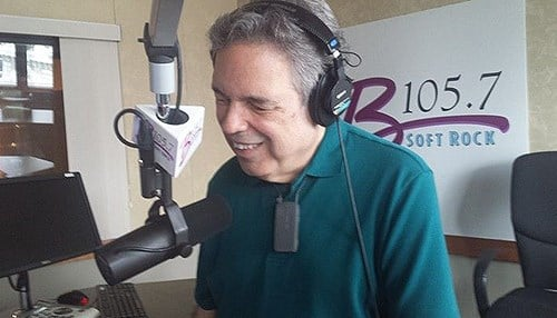 Bernie Eagan is the afternoon host on B105.7 in Indianapolis. (photo courtesy of our partners at WIBC)