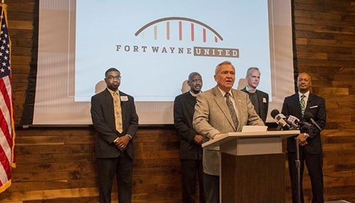 The city first announced plans for the TenPoint Coalition in June. (photo courtesy city of Fort Wayne)