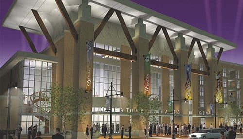 Terre Haute Convention Center Rendering