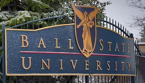 Ball State will be honored as the 2018 Institution of the Year.