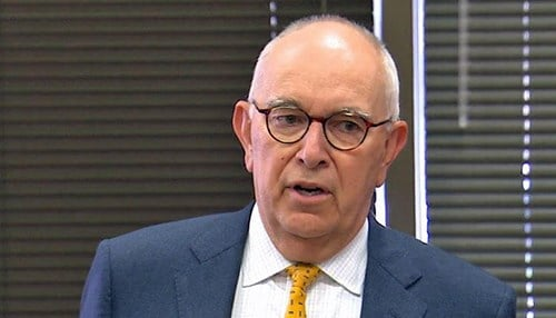 Marion County Prosecutor Terry Curry (photo courtesy WTHR)