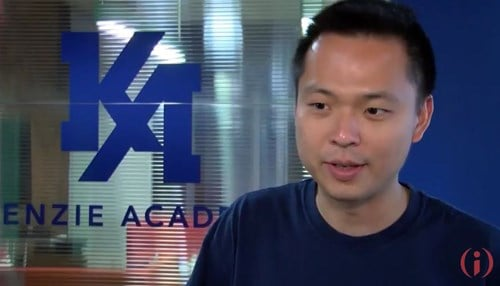 Chok Ooi is the co-founder and CEO of Kenzie Academy.