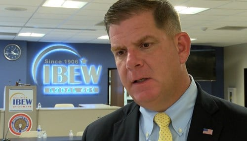 (Marty Walsh is the mayor of Boston, Massachusetts.)