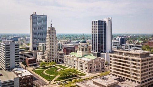 The City of Fort Wayne this year created a 13-member Public Art Commission to help develop a public art master plan. (Image courtesy of the city of Fort Wayne.)
