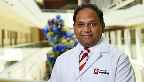 Chandan Sen will serve as the inaugural director of the center. (photo courtesy IU School of Medicine)