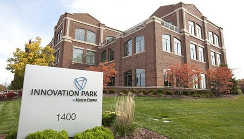 Figuro3D is headquartered at Notre Dame's Innovation Park. (photo courtesy Figuro3D)