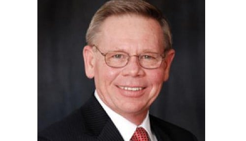 (Image of President Ray Barber courtesy of Oakland City University.)