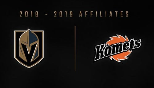 (Image courtesy of the Fort Wayne Komets.) The agreement covers the 2018-2019 season.