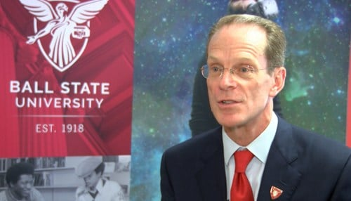 Mearns spoke with IIB during a visit to Ball State's downtown Indianapolis office.