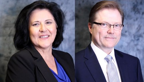 (Images of Brenda Temple (left) and Bret Cox (right) courtesy of Boyd Gaming.)