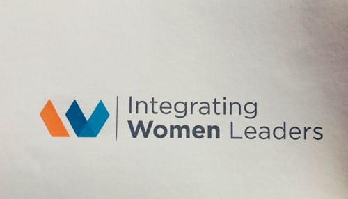 Integrating Women Leaders unveiled a new logo at the conference.