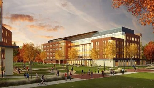 (Rendering courtesy of Ball State University.)