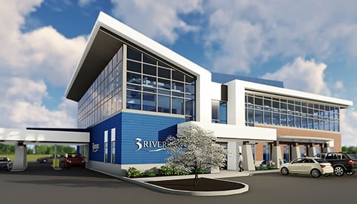 (rendering courtesy 3Rivers Credit Union)
