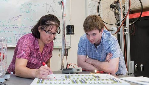 Abigail Mechtenberg is the founder of Energy E3. (photo courtesy of the University of Notre Dame)