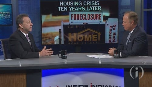 Cooper says the Indiana housing market has improved dramatically over the past decade.