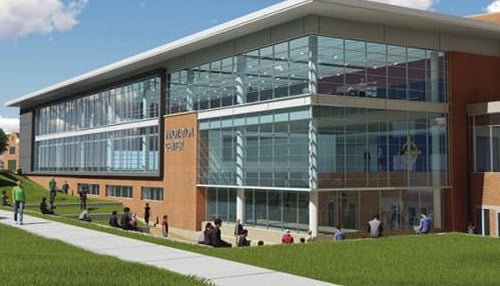 The new Innovation Center is expected to cost $12 million. (rendering courtesy of Cathedral High School)