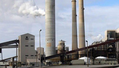 The plan would retire the coal-fired units at the R.M. Schahfer Generating Station in Wheatfield. (photo courtesy of our partners at The Times of Northwest Indiana)