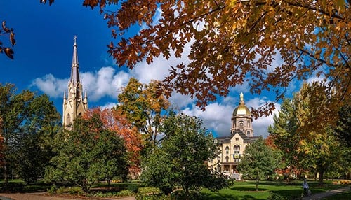 (photo courtesy of the University of Notre Dame)