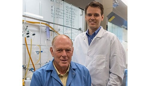 Phillip and Stewart Low, co-founders of Novosteo (photo courtesy of Purdue University)