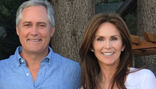 (Image of Mark and Dana Foley provided by the University of Notre Dame.)