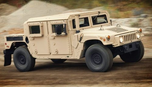 AM General manufactures Humvees for the U.S. military. (photo courtesy of AM General)