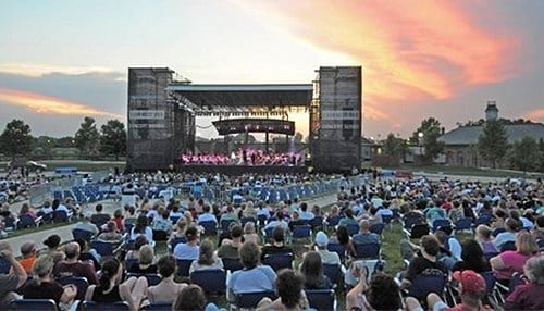 The Lawn at White River State Park currently hosts concerts, but is not a permanent venue. (photo courtesy White River State Park)
