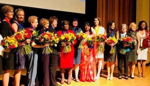 (Image of 2018 Torchbearer Award Winners courtesy of the Indiana Commission For Women.)