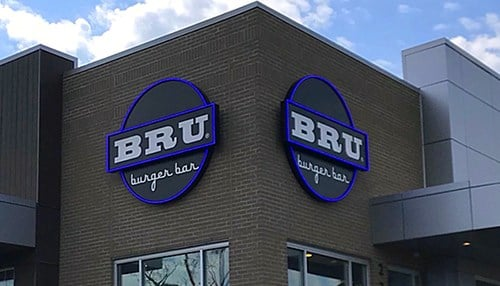 Bru Burger Bar opens in Fort Mitchell, KY (image courtesy of Cunningham Restaurant Group)