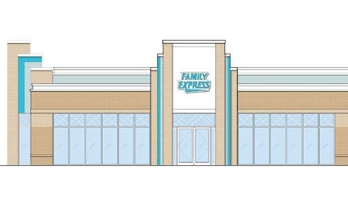 The Carmel location will feature an Art Deco design. (rendering courtesy of Family Express)