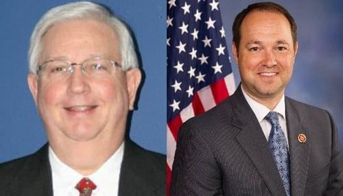 Pictured left-to-right: William Dubois, Marlin Stutzman