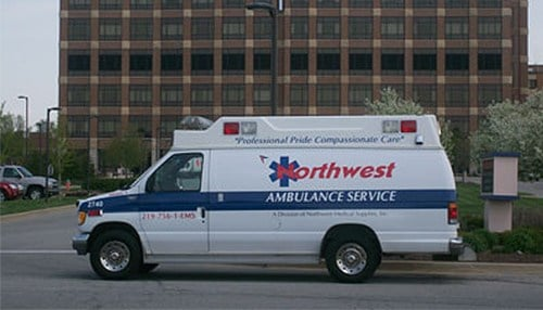 Ubanwa was the owner and manager of Northwest Ambulance Service from 2007 until earlier this year. (photo courtesy of Northwest Ambulance Service)