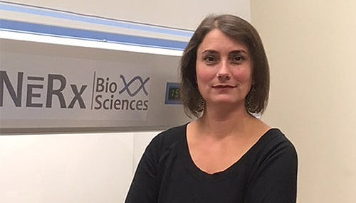 Katherine Pawelczak is vice president for research at NERx Biosciences. (photo courtesy of Indiana University)
