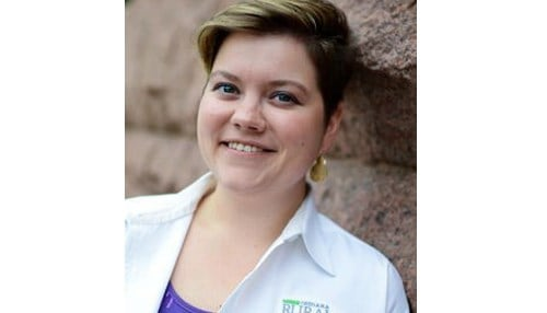 (Image of Allison Orwig courtesy of the Indiana Rural Health Association.)