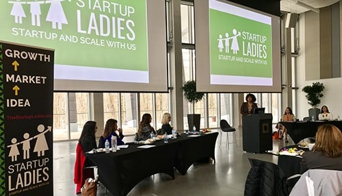 The platform was announced during The Startup Ladies' fourth anniversary luncheon.